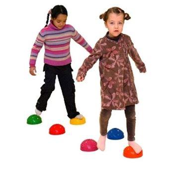 Afbeelding van Set van 6 zachte halve bollen