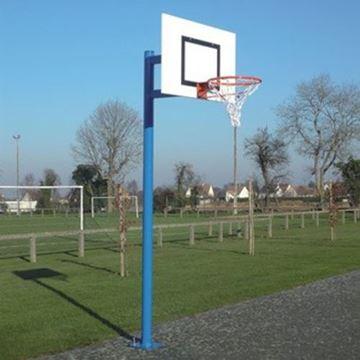 Afbeelding van Basketbalring ringhoogte 2,60m, overhang 0,60m