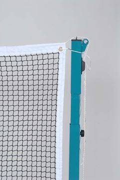 Afbeelding van Badmintonnet - topcomp - maas 19 mm - zwart