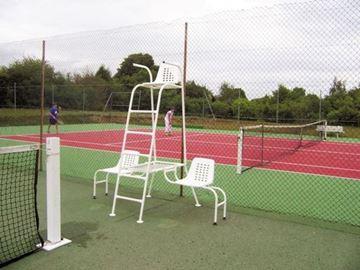 Afbeelding van Bijzetstoelen scheidsrechterstoel