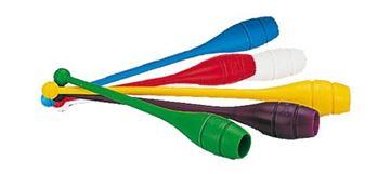 Afbeelding van ritm.gym - paar knotsen - 41cm/110gr - rood