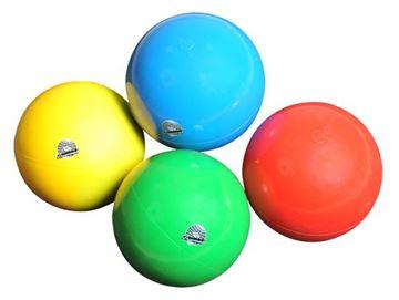 Afbeelding van ritm.gym - bal - 17cm/280gr - blauw