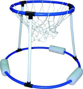 Afbeelding van drijvende basketbalring