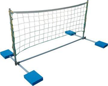 Afbeelding van drijvend volleybalnet
