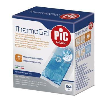 Afbeelding van doos/6 herbruikbare warm/koud kompressen 10x26cm