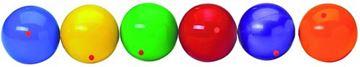 Afbeelding van jongleerbal PVC - blauw