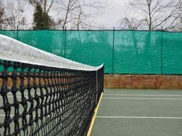 Afbeelding van Tennisnet 12,70m - 3mm - dubbele topmaas