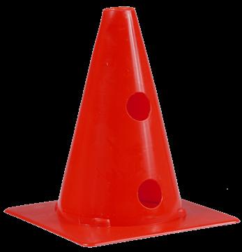 Afbeelding van kegel met gaten SEA - 20cm/4gaten - rood