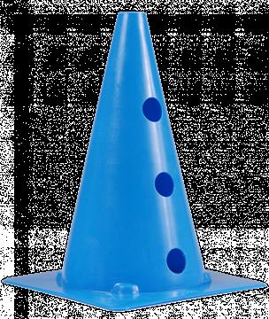 Afbeelding van kegel met gaten SEA - 30cm/3gaten - blauw