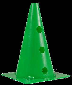 Afbeelding van kegel met gaten SEA - 30cm/3gaten - groen