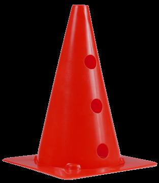 Afbeelding van kegel met gaten SEA - 30cm/3gaten - rood