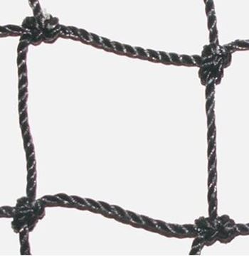 Afbeelding van doelnet SR - PE 3mm - zwart - per paar
