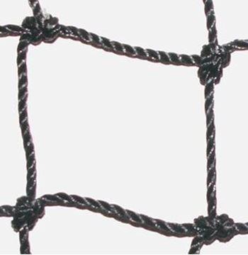 Afbeelding van doelnet SR - PE 4mm - zwart - per paar