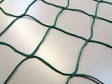Afbeelding van doelnetten 2,4x1,6x1x1m - 3mm - groen